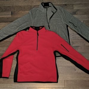 Banana Republic half zip fleeces